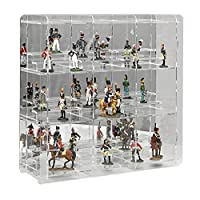 SORA Display Case for Collectable Figures with mirrored back-panel