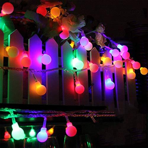 Licht-Schnur Batteriebetriebenes 33Ft 100 LED Imprägniern Weihnachtsschnur-Lichter Für Das Dekorative Im ()