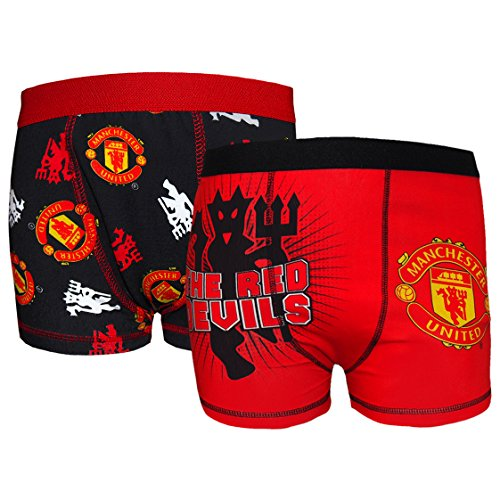 manchester-united-fc-official-football-gift-2-pack-boys-boxer-shorts-5-6-years-black-red
