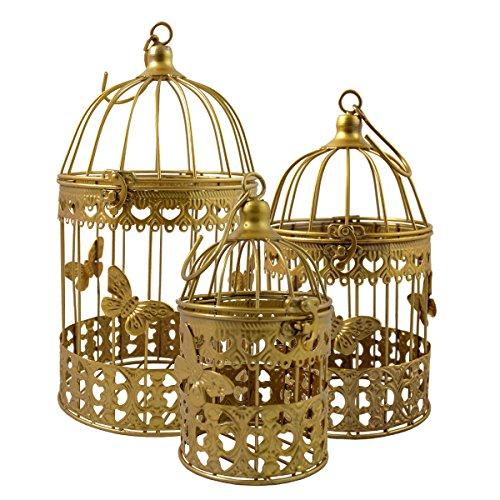 Gold Schmetterling (Gold Vogel Käfig)