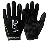 Kookaburra Energy Hockey Protective Equipment (1 Pair) - Black/Lime, Large
