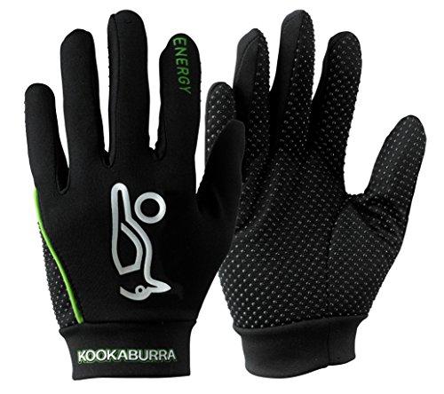 Kookaburra Energy Hockey Protective Equipment (1 Pair) - Black/Lime, Medium