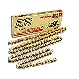 DID Kette 520 ERT2, 118 Glieder (Standard gold), offen mit Clipschloss