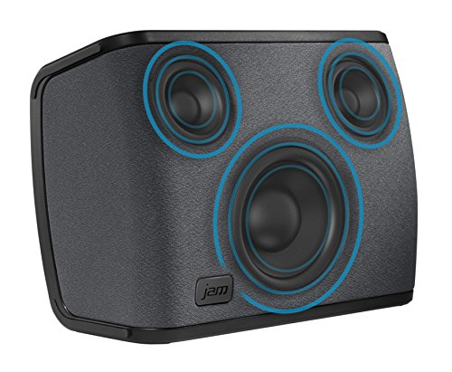 51 bEAgB7XL - Jam Audio Symphony Wireless Wi-Fi Speaker with Alexa built-in, Play 1 / Multi-Room, 2.1 Stereo Sound, Treble + Bass…