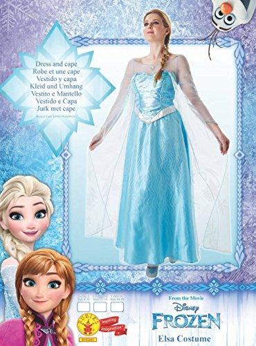 Imagen de rubie 's–disfraz de elsa de frozen, adultos oficial–grande alternativa