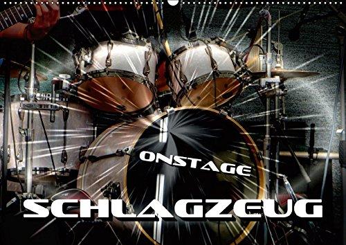 Schlagzeug onstage (Wandkalender 2019 DIN A2 quer): Eindrucksvolle Konzertaufnahmen und Closeups von verschiedenen Schlagzeugen (Monatskalender, 14 Seiten ) (CALVENDO Kunst)