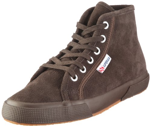 Superga, 2095-SUEU, Sneaker, Unisex - adulto, Braun/Full Dark Chocolate, 37