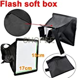 SHOPEE BRANDED 15 x 17cm Universal Cloth Flash Bounce Diffuser for Canon Nikon Sony yongnuo