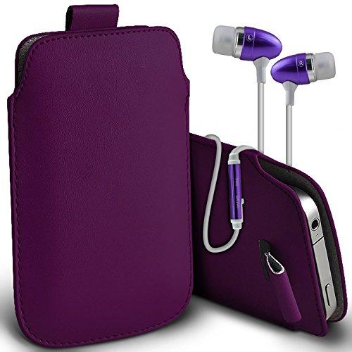 Fall für iPhone 7 Plus-Handy Smart Pinchers Form-Auto-Halterung Halter von i -Tronixs Pull tab + earphones (dark purple)