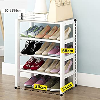 Household Shoe Rack Solid Wood Shoe Rack Home Simple Small Shoe Rack Dust Shoe  Rack White