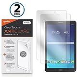 BoxWave Galaxy Tab E (9.6) Screen Protector, [ClearTouch Anti-Glare (2-Pack)] Anti-Fingerprint Matte Film Skin for Samsung Galaxy Tab E (9.6)