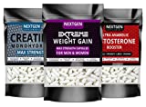 ANABOLIC Muscle GAIN Capsule Stack - Quick Muscle Mass Pills Growth Potent Tablets