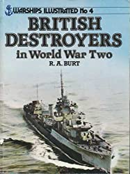 British Destroyers in World War II (Warships illustrated no. 4)