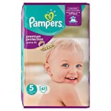 Pampers Active Fit Taille 5, 11 a 25 kg 47 couches
