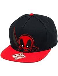 Marvel Kawaii Deadpool Snapback Baseball Cap