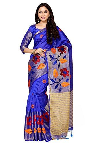 Mimosa By Kupinda Women's Tussar Silk Saree Kanjivaram Style (Latest Designer Sarees...