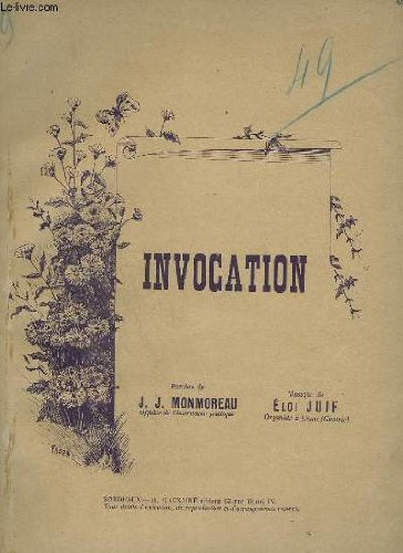 INVOCATION - PIANO ET CHANT.