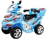 Elektromotorrad für Kinder Elektrisch Ride On Kinderfahrzeug Elektroauto Motorrad - F918 R/C - Blau