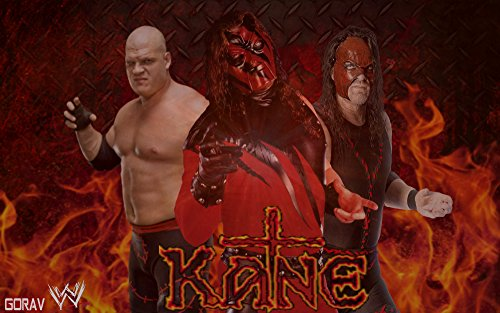 Athah Designs WWE Kane Wall Poster 13*19 inches Matte Finish  available at amazon for Rs.249