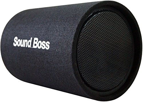 soundboss sbbt-12x19 12-inch 600w powered subwoofer bass tube with in-built amplifier SoundBoss SBBT-12X19 12-Inch 600w Powered Subwoofer Bass Tube with In-Built Amplifier 51 bPFm 2ByHL