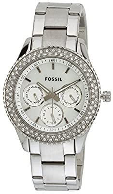 Fossil Stella Analog Silver Dial Women's Watch-ES2860
