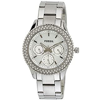 Fossil End-of-season Stella Analog Silver Dial Women's Watch – ES2860