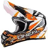 O'Neal 3Series SHOCKER MX Helm Schwarz Blau Rot Motocross Cross Enduro, 0623S-5