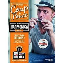 Roux Denis - coup de pouce harmonica +1 cd