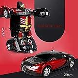 Soulitem macchina elettrica RC 1:12 gesto deforma sensibile variante telecomando giocattolo auto Natale compleanno regalo