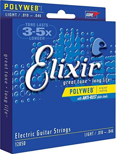 Elixir 12050 - Juego de cuerdas para guitarra eléctrica