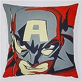 NH-NH Applicateur : Superman Batman Ironman Spiderman Housse de Coussin en Lin pour...