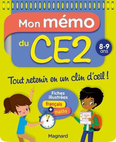 Mon Memo du CE2 8 9 Ans par Morgane Céard