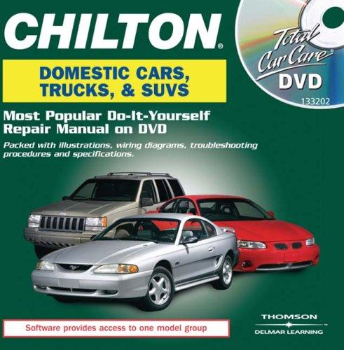 Chilton Total Car Care Domestic Vehicles