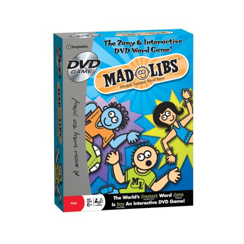Mad Libs DVD Game