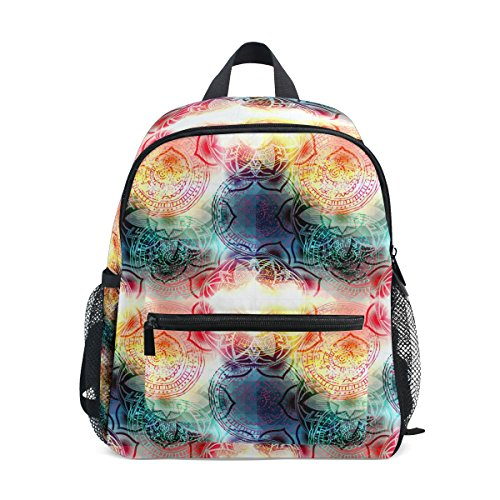 COOSUN Tie Dye Mini Kinderrucksack Pre-School Kindergarten Kleinkind-Tasche Mehrfarbig -