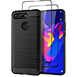 Teayoha Case for Honor View 20, with Tempered Glass Screen