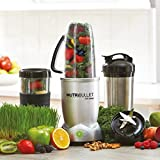 from NUTRiBULLET NutriBullet 1200 Series Blender with Smart Technology and Stainless Steel Mug, 1200W, 12pc set Model NBLMX