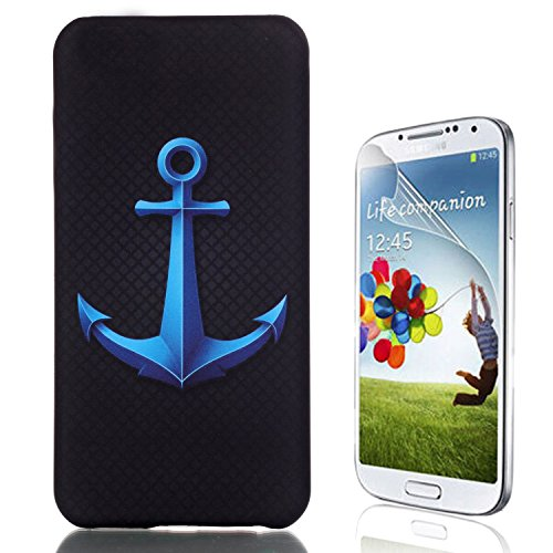 Samsung Galaxy S6 Edge Plus Caso, Samsung Galaxy S6 Edge Plus Cover, Bonice Ultra Sottile PC Hard Back Antiurto Shock-Absorption Durable Case Love + 1x Protezione Dello Schermo Screen Protector Pattern 06