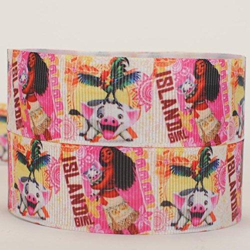 Disney SEMO2002Ripsband 2m x 22mm für Geburtstagstorten, Geschenkpapier Band Haar Bögen