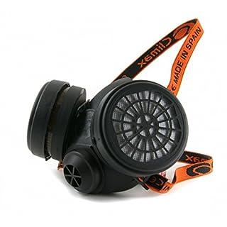 Profi Atemschutz Halbmaske mit Filtern P3, Gasmaske, Staubmaske Atemschutzmaske