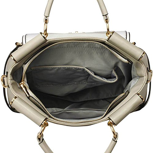 Xardi London - Sacchetto donna Grey/White Style 2