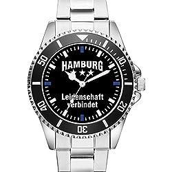 Hamburg - Leidenschaft verbindet - KIESENBERG ® Uhr 2276