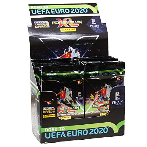Panini 097511 Sammelkarten Road to Euro 2020, Display mit 50 Boostern, bunt