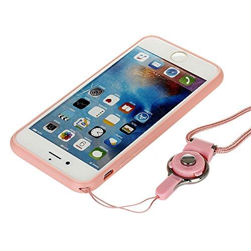 Voguecase Für Apple iPhone 7 4.7 hülle, Schutzhülle / Case / Cover / Hülle / TPU Gel Skin mit Ring Schnalle (Blau-Seelöwen) + Gratis Universal Eingabestift Blau-TRAVEL