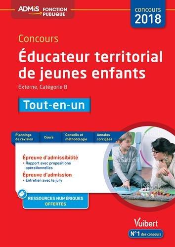 Concours Éducateur territorial de jeunes enfants - Tout-en-un - Catégorie B Concours 2018