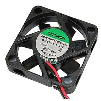 Fan / Ventilateur 5V 1W 40x40x10mm 11,8m³/h 27dBA ; Sunon EB40100S2-999