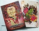 Tattoo Vorlagen Book Buch DIN A4 Auf 110 Seiten Neu shtlsg