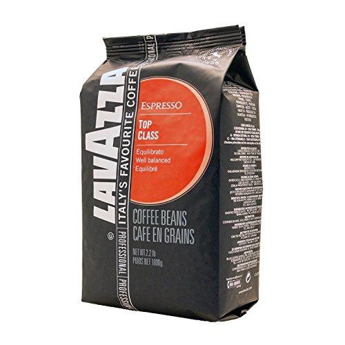 2 Pack : Lavazza Top Class Whole Bean Espresso, 2.2-Pound Bag (Pack of 2)