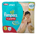 #3: Pampers Diapers Pants - Small (4-8Kg), 86 Pieces pack