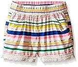 Crazy 8 Baby-Girl's Stripe Drapey Short, Multi, 6-12